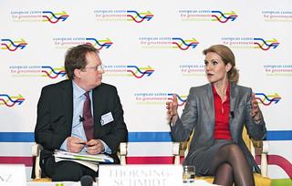 Paul Hofheinz and Helle Thorning-Schmidt