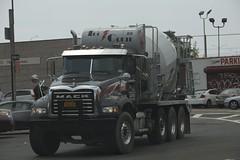 (John S1536) Tags: raw cementmixer granite longislandcity cementtruck concretemixer concretetruck teccrete