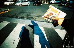 (Twiggy Tu) Tags: trip shadow selfportrait paris france film brad lomo lca twiggy 2011