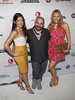 Nina Cortez, Brian Burkhardt and Christina Project Runway 10th Anniversary Party at On The High Line New York City, USA