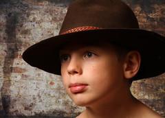 Cowboy (Jeanette Svensson) Tags: boy hat canon studio cowboy alt 7d winner poirtrait 8863 jeanettesvensson