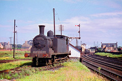 R343.  56239 at Ardrossan. July,1960. (Ron Fisher) Tags: uksteam 56239 scottishregion