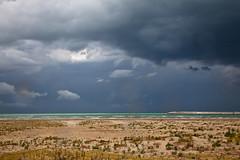 the wall.. (IntoTheWild1979) Tags: travel sea sky italy rain clouds italia nuvole mare porto cielo pioggia circe abruzzo onde pescara temporale