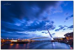 ((eric)) Tags: blue sky clouds lights nikon taiwan fishermanswharf  fishingboats     freshwater d800  loversbridge    142428g