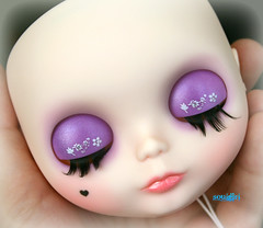 Angelique's eyelids :)