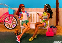 "Girl Talk: Part 2 - ""She Totally Doesn't Deserve Him!"" (Dawn Ellis) Tags: barbie blackdoll stardoll aabarbie barbieplayset barbiebeach dolldiorama barbiepivotal highschoolmusicaltaylordoll girltalkwhittorae blacklivdoll aalivdoll barbieteens"