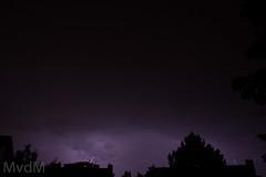 Thunder (Mark van der Meer) Tags: weather rotterdam thunderstorm lightning thunder weer spijkenisse onweer bliksem ontlading