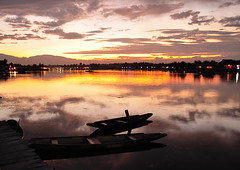 Sunset at Dal Lake (k gokul) Tags: sunset india kashmir dallake