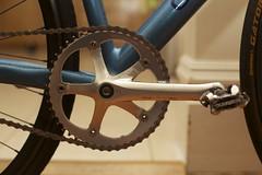 Suntour (fredericklee97) Tags: blue usa black bike san track deep drop arctic v pro marco jag jaguar cannondale velo velodrome trackbike suntour nitto shimano superbe njs crankset zoncolan