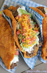 Doritos Locos Taco Bell copycat recipe. (1 Fine Cookie) Tags: food dog recipe photography diy blog funny copycat fastfood tacos humor mexican foodporn homemade popcorn copy cheesy seasoning tacobell doritos cincodemayo flavoring nachocheese doritoslocos