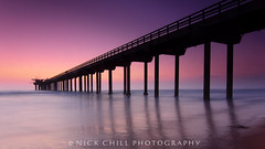 Into The Sea (Nick Chill Photography) Tags: ocean california sunset beach photography pier pacific sandiego sony fineart lajollashores stockimage scrippsinstitute nickchill nex7