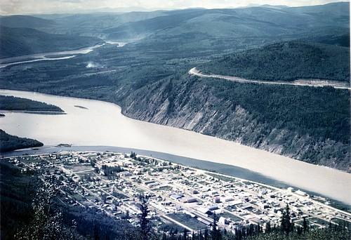 Dawson City - Yukon River - Top of the World Highway (to Alaska) - Yukon Territory - July, 1975