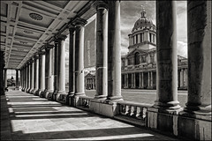UK - London - Greenwich - Old Royal Naval College arcade sepia (Darrell Godliman) Tags: uk greatbritain travel england copyright building london tourism architecture europe britishisles unitedkingdom britain greenwich eu gb wren christopherwren europeanunion allrightsreserved navalcollege architecturalphotography travelphotography oldroyalnavalcollege instantfave omot travelphotographer flickrelite dgphotos darrellgodliman wwwdgphotoscouk architecturalphotographer dgodliman royalgreenwich royalboroughofgreenwich uklondongreenwicholdroyalnavalcollegearcadesepiadsc7363 greewichnavalcollege not5000