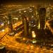 Dubai at Night from the Burj