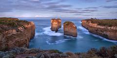 Shipwreck Coast-Explored (southern_skies2) Tags: ocean longexposure cloud waves australia cliffs greatoceanroad southernocean sheer seastacks skyshore