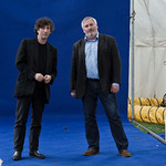 Neil Gaiman and Chris Riddell