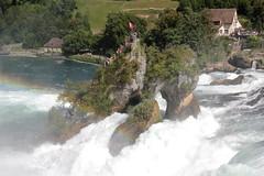 Rheinfall ( Wasserfall / Waterfall ) des Rhein bei Neuhausen am Rheinfall im Kanton Schaffhausen und Zürich in der Schweiz (chrchr_75) Tags: schweiz switzerland suisse swiss august christoph svizzera 2012 1208 suissa chrigu chrchr hurni chrchr75 chriguhurni hurni120826 chriguhurnibluemailch waterfall wasserfall slap cascade cascada 滝 瀑布 waterval водопад vattenfall vodopád wodospad vandfald albumwasserfälle albumwasserfällewaterfallsderschweiz river europa reno fluss rhine rhein strom rin rijn rhin rhenus albumrhein rio río fiume rivière rivier 川 joki rzeka flod august2012 albumzzz201208august water eau wasser rheinfall cascate albumrheinfall