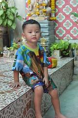 a handsome boy (the foreign photographer - ) Tags: boy portraits thailand shrine bangkok indian handsome khlong bangkhen thanon