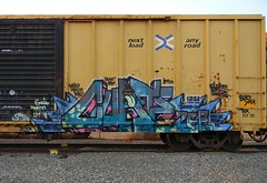 Cuate (Sk8hamburger) Tags: railroad man art train painting graffiti paint little tag rr zee littleman boxcar graff piece zombies lm tagging freight wh guilt phrite cuate paint spray