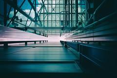 Fantasy Part Two - London City Architecture (Simon & His Camera) Tags: city light sky urban cloud building london geometric glass lines vertical metal architecture office lookingup vignette simonandhiscamera