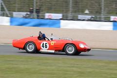 DSC_8713 - Ferrari 246S (102er) Tags: auto uk classic cars car festival race racecar nikon racing historic tamron motorracing motorsport donington 70300 doningtonpark hscc d7000