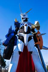 Omnimon-4 (YGKphoto) Tags: anime minnesota costume cosplay ad large minneapolis videogames armor convention stilts digimon detour 2016 animeconvention animedetour omnimon omegamon ad2016
