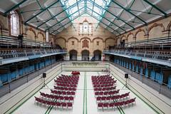 Victoria Baths (yoJoebosolo) Tags: wedding light pool swimming hall angle main wide victoria baths seating venue