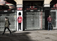 75% Off (Wormsmeat) Tags: london panasonic horseguard closedshop londonstreetphotography dmcgm5