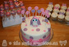 Owl Themed Baby Shower Cake & Treats