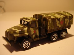 ETI/TECHNOPARK URAL 4320 ARMY TRUCK 1/64 (ambassador84 OVER 5 MILLION VIEWS. :-)) Tags: eti diecast technopark ural4320truck
