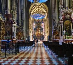 St Stephen's Cathedral, Vienna (Father Alex) Tags: vienna wien st austria european cathedral stephens capitals ststephenscathedral europeancapitals europeancapitalcities