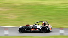 Caterham (saddy_85) Tags: road park car race drive nikon track wheels may fast racing course barc touring motorsport cadwell 2016 d5100