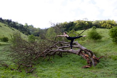 Landscape of Dance (PenelopeStrawberry) Tags: ballet landscape dance boxhill maledancer