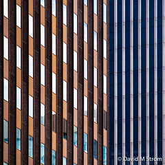 Saint Paul Skyscrapers (David M Strom) Tags: abstract colors lines architecture skyscraper reflections pattern shapes minimal saintpaul davidstrom olympusomdem5