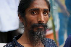 Portrait (Shadman241091) Tags: street people festival canon beard chittagong primelens