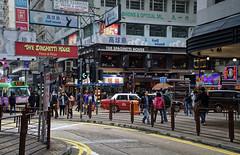 Hong Kong Street (atvstd) Tags: hong kong street asphalt outdoor china nikon view people car taxi