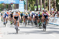Chloe Dygert Leads the Pack Past Shara Gillow (Garrett Lau) Tags: bicycle cycling women racing sacramento amgen criterium stage4 2016 circuitrace tourofcalifornia chloedygert womenscircuitrace sacramentocircuitrace amgenbreakawayfromheartdiseasewomensrace