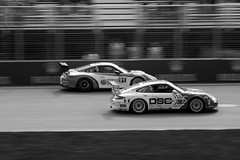 Porche (scienceduck) Tags: blackandwhite bw canada june quebec montreal f1 racing grandprix formulaone pan panning formula1 porche 2016 scienceduck canadiangrandprix