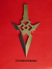 Titanium Blood Diamond (TitaniumSoul) Tags: handmade x diamond titan ti arrowhead broadhead dlux4 titaniumsoul