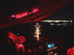 Runway in Sight (alex.adam) Tags: light night lights flying airport aircraft aviation aeroplane final lightning approach runway pilot cessna aero papi 172 jerez vfr aerodrome c172 lejr runay