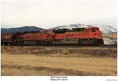 BNSF 8476 & 6635 (Robert W. Thomson) Tags: railroad train montana diesel railway trains locomotive helena trainengine ge bnsf burlingtonnorthern emd gevo sd70 sd70ace es44 evolutionseries sixaxle es44c4