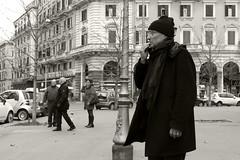 ...or not to be ? (@ntomarto) Tags: street urban blackandwhite bw italy rome roma strada italia uomo doubt biancoenero amleto dubbio dubbioso antomarto ntomarto