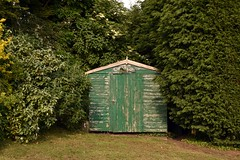 Lilleshall (stephen trinder) Tags: uk england green landscape countryside wooden shed gb hedges lilleshall stephentrinder stephentrinderphotography