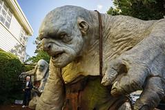 Weta Workshop - Troll (timidelfdesigns) Tags: newzealand sculpture statue nz wellington handheld troll thehobbit wetaworkshop thewetacave