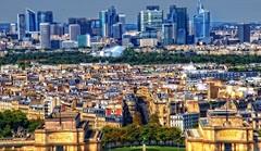 Z wysoka... (zbyszekski) Tags: city france building nikon weekend miasto eifell pary turystyka