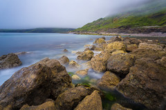 Half of Houns Tout (289RAW) Tags: sea mist fog coast rocks long exposure dorset jurassic purbecks 289raw