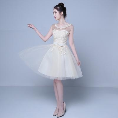 Koreanische Version von der Brautjungfer Kleid kurze Schulter-2016 neue sommerliche