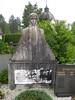 Grave at Žale Cemetery, Ljubljana, Slovenia (Wiebke) Tags: tombstone headstone gravestone sculpture grave ljubljana slovenia europe vacationphotos travel travelphotos žale žalecentralcemetery cemetery centralnopokopališčežale pokopališče bežigrad bezigrad