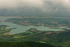 Takhtakorpu reservoir (Ilkin Kangarli) Tags: lake mountains field forest azerbaijan reservoir caucasus lowland        siyazan shabran