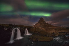 Classic Kirkufell (Carlos.A) Tags: islandia aurora cascadas montaa kirkjufell